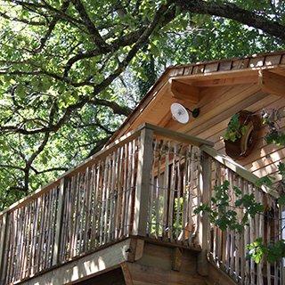 Cabane perchée Lacanau